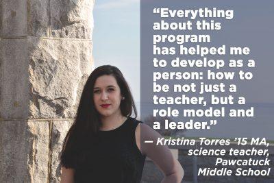 TCPCG alumna Kristina Torres