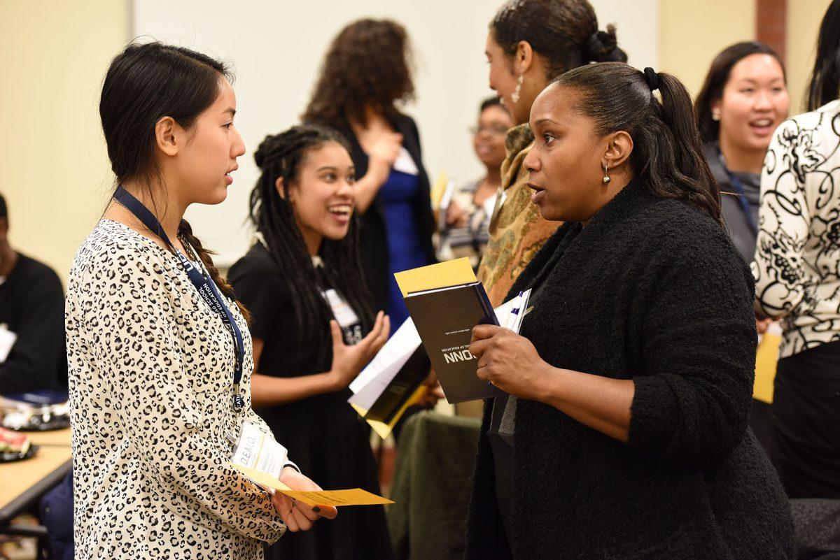 Community Building Event; IB/M; integrated bachelor's/master's program; teacher preparation; UConn Neag School of Education