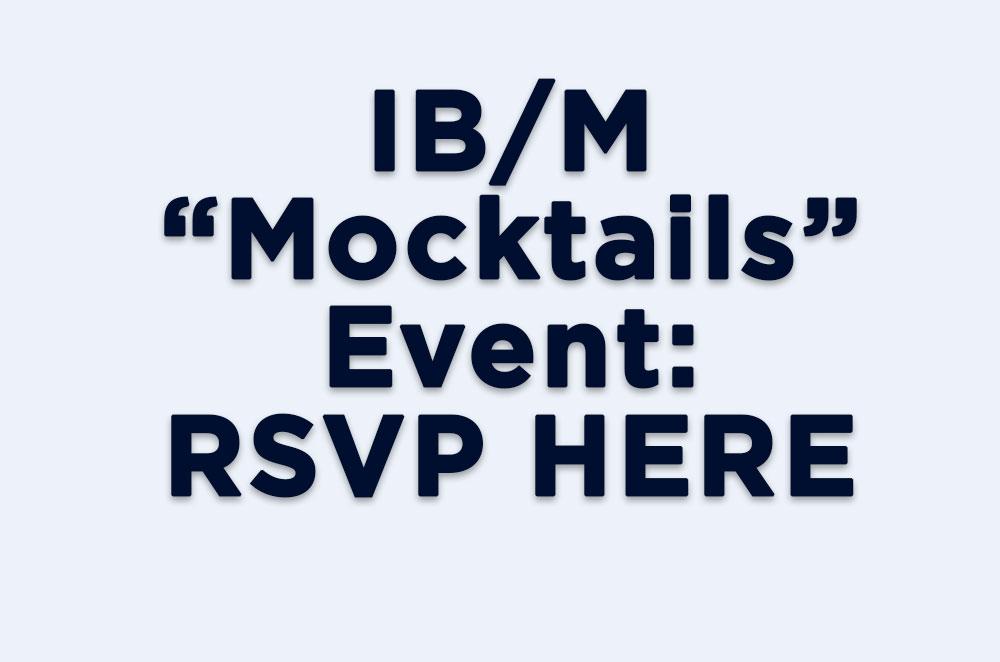 IB/M Community Event