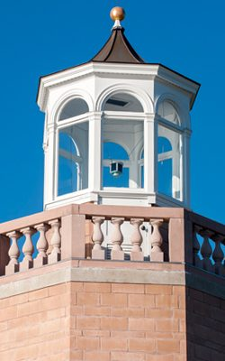 Cupola on a building at UConn Avery Point.